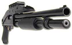 12 gauge tactical shotgun