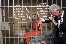 hillary in jail cell