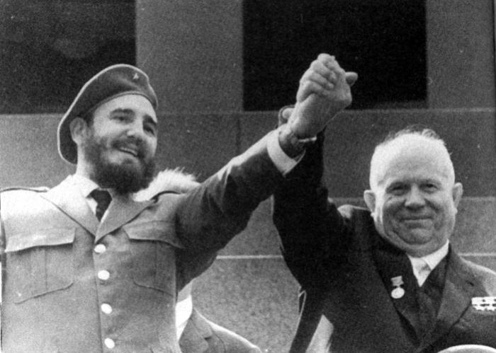 castro and krushchev