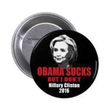 obama sucks hillary dont