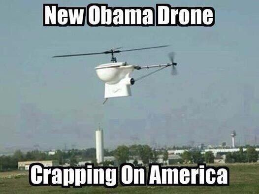 crapping on America
